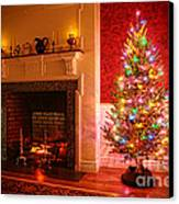 Christmas Tree Canvas Print by Olivier Le Queinec