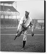 Christy Mathewson Pitching Canvas Print by Retro Images Archive