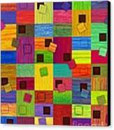 Chronic Tiling V2.0 Canvas Print by David K Small