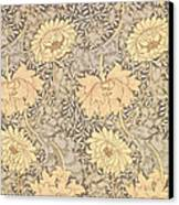 Chrysanthemum Canvas Print by William Morris