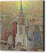Chrysler Building New York City 20130425 Canvas Print by Wingsdomain Art and Photography