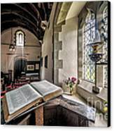 Church Chronicles Canvas Print by Adrian Evans