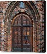 Church Door Canvas Print by Antony McAulay