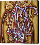 Cinelli Laser Bicycle Canvas Print by Mark Howard Jones