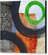 Circles 2 Canvas Print by Linda Woods