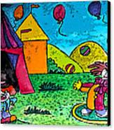 Circus Canvas Print by Monica Engeler