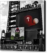 Citizens Bank Park Philadelphia Canvas Print by Bill Cannon