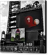 Citizens Bank Park Philadelphia Canvas Print by Bill Cannon