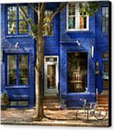 City - Alexandria Va -  Bike - The Urbs Canvas Print by Mike Savad