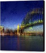 City-art Sydney Canvas Print by Melanie Viola