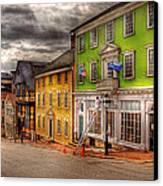 City - Providence Ri - Thomas Street Canvas Print by Mike Savad