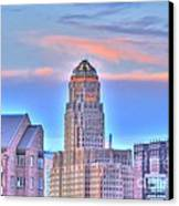Cityscape Canvas Print by Kathleen Struckle