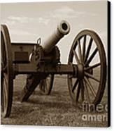 Civil War Cannon Canvas Print by Olivier Le Queinec