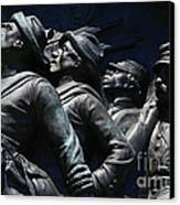 Civil War Figures Canvas Print by Paul W Faust -  Impressions of Light