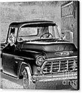 Classic Ride Canvas Print by Betty LaRue