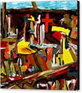Clear Cut Canvas Print by David Skrypnyk