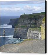 Cliffs Of Moher 4 Canvas Print by Mike McGlothlen