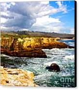 Cliffs Canvas Print by Shannan Peters