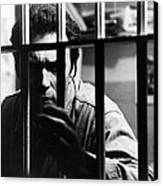 Clint Eastwood In Escape From Alcatraz  Canvas Print by Silver Screen