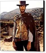 Clint Eastwood Outlaw Canvas Print by Gianfranco Weiss