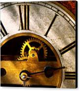 Clockmaker - What Time Is It Canvas Print by Mike Savad