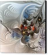 Cloud Cuckoo Land-fractal Art Canvas Print by Karin Kuhlmann