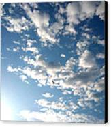 Clouds Canvas Print by Lucy D