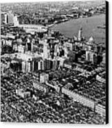 Cnac Douglas Over Shanghai In 1937 Canvas Print by Retro Images Archive