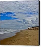 Coast Guard Beach Canvas Print by Amazing Jules