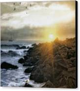 Coastal Sunrise Canvas Print by Tom York Images