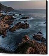 Coastal Tranquility Canvas Print by Mike Reid