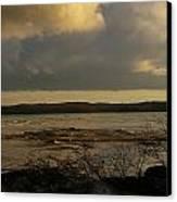 Coastal Winters Afternoon 3 Canvas Print by Amy-Elizabeth Toomey