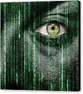 Code Breaker Canvas Print by Semmick Photo
