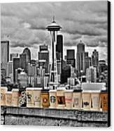 Coffee Capital Canvas Print by Benjamin Yeager