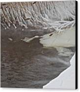 Cold Fills The Void Canvas Print by Odd Jeppesen