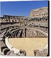 Coliseum . Rome Canvas Print by Bernard Jaubert