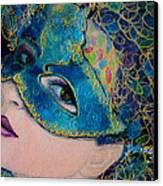 Colombina's Sight Canvas Print by Dorina  Costras