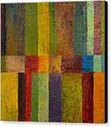Color Panel Abstract Ll Canvas Print by Michelle Calkins