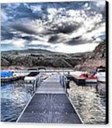Colorado Boating Canvas Print by Dan Sproul