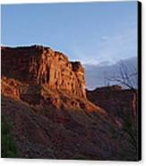 Colorado River Sunrise Canvas Print by Michael J Bauer