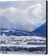 Colorado Rocky Mountain Autumn Storm Canvas Print by James BO  Insogna