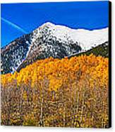 Colorado Rocky Mountain Independence Pass Autumn Panorama Canvas Print by James BO  Insogna