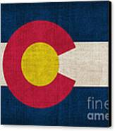 Colorado State Flag Canvas Print by Pixel Chimp