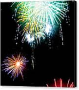 Colorful Explosions No3 Canvas Print by Weston Westmoreland