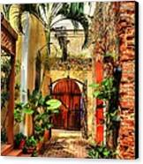 Colors Of Saint Thomas 1 Canvas Print by Mel Steinhauer