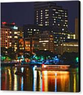 Colors On The Charles Canvas Print by Joann Vitali