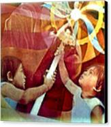 Come Unto Me 1966 Canvas Print by Glenn Bautista
