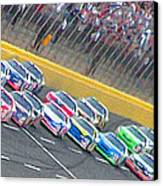 Coming Out Of Turn 4 Canvas Print by Kenneth Krolikowski