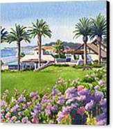 Community Center At Del Mar Canvas Print by Mary Helmreich