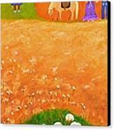 Company Come To Call Canvas Print by Nina Stephens